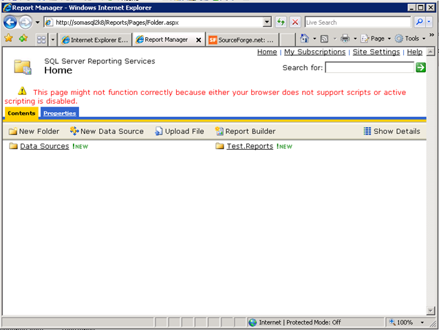 SQL Server Reporting Services 2008 Tutorial in 5 Minutes or